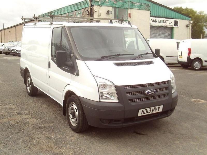 Ford Transit T280 swb Flat Roof 100ps DIESEL MANUAL WHITE (2013)