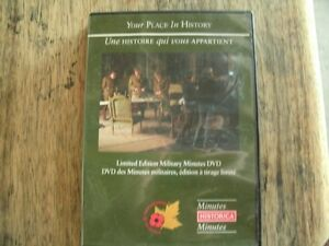 Limited Edition Military Minutes DVD