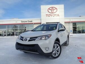 2013 Toyota Rav4 LIMITED AWD NAVIGATION 1 OWNER LADY DRIVEN