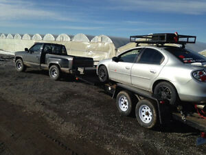 25 ft car hauler trailer
