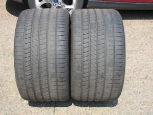 Two Used Corvette Rear Tires