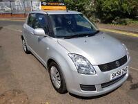 Suzuki Swift GL (silver) 2008