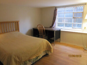fully furnished rooms available all the time, weekly rent