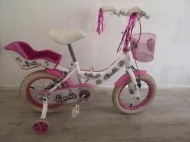 "bike for girls 14"" with stabilizer"