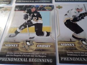 SIDNEY CROSBY HOCKEY CARDS  (7 Cards)   (VIEW OTHER ADS) Kitchener / Waterloo Kitchener Area image 5