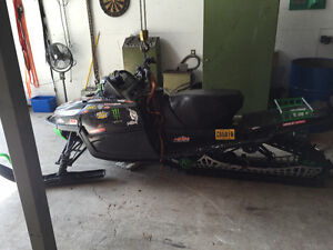 Parting out complete Arctic cat m800 2010
