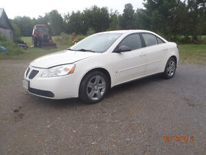 2007 Pontiac G6 SE Sedan REDUCED TO   $2850  IF SOLD BY WED.