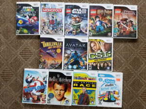 Wii - quest games + random lot