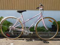 vélo de ville 6 vitesse vélo sport rose mise au point