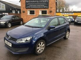 Volkswagen Polo 1.4 85 PS SE (blue) 2009
