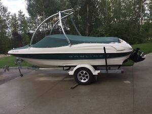 1999 bayliner 18.5 Capri , low hours!