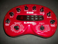 LINE 6 POD with FBV FOOTSWITCH & MOUNT