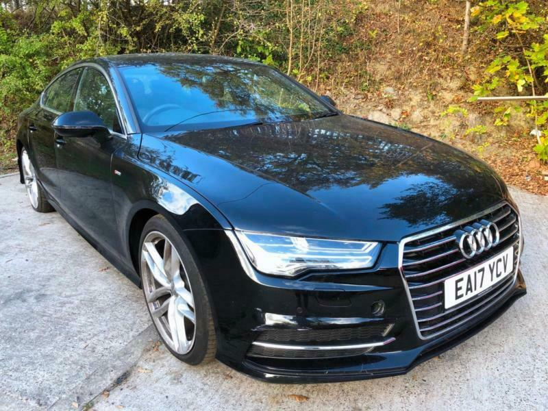 2017 17 Audi A7 3 0tdi Ultra Sportback S Line Auto Damaged Repairable Salvage
