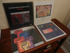 Vinyl Records/LP's Frankie Goes To Hollywood 1980's Lot of 4
