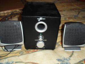 Système de haut-parleur pour ordinateur personnel