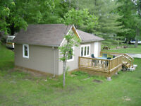 2 bedroom cottages for rent $150 anight, $900 weekly