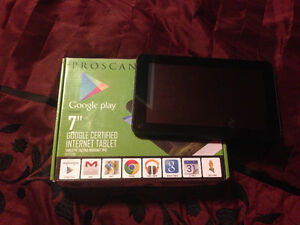 "Brand New 7"" ProScan GooglePlay Device"