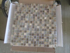 Keen Ocean Glass Mosaic Tiles