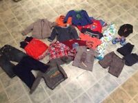 Box of baby boy clothes (12-18 months)