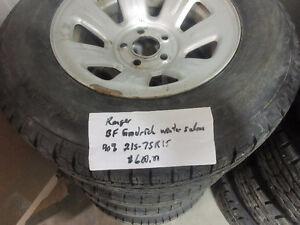 ford ranger winter tires