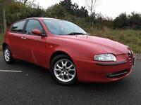 2001 51 Alfa Romeo 147 1.6 T.Spark Lusso 5dr In Red, Genuine 81k