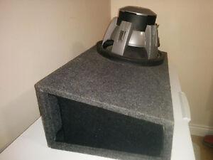Caisse de Sub 12po montage reverse