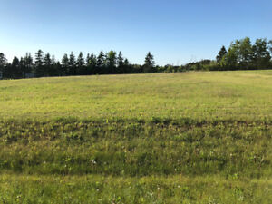 Nice lot with great views ready to build close to Charlottetown