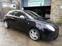 Alfa Romeo Mito 1.4 TB VELOCE 155BHP (black) 2009