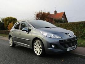 2011 Peugeot 207 1.6 HDi ALLURE 5DR TURBO DIESEL HATCHBACK ** £30 TAX * TOP ...