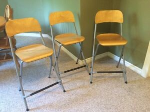 Bar chairs from IKEA