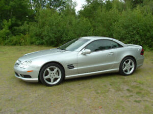 Mercedes-Benz SL55 AMG  Luxury and Performance