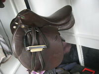 Keith Bryan jumping saddle for sale