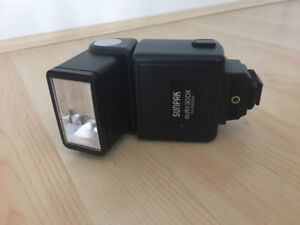 Sunpak Auto 30DX Shoe Mount Flash for Nikon