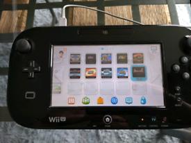 Nintendo Wii U premium 32gb with 16 games