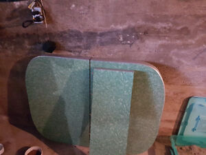 Retro dining room table and chairs