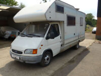 Rimor Unico (Ford Transit) 6 Berth Coach built Bunk Beds, End Kitchen