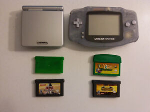 Gameboy Advance with games/ Gameboy Advance avec jeux