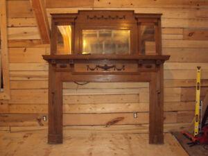 Antique Mantle piece