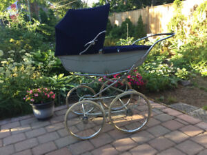Baby carriage, made in England.  $60.00