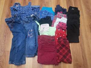 Lot of girl spring clothes - size 3 (toddler)