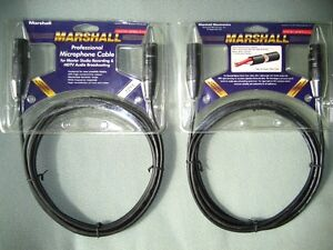 MARSHALL PROFESSIONAL MICROPHONE CABLES