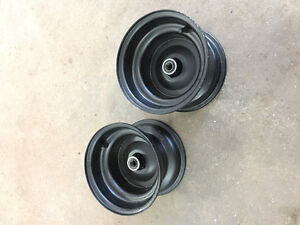"""New 8"""" rims with bearings"""