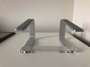 Griffin elevator stand for laptop, silver