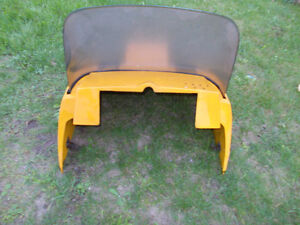 1972 Ski-doo Olympique Snowmobile Hood with Windshield Peterborough Peterborough Area image 5