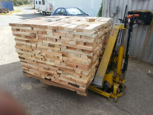 ry firewood lumber ends Dry
