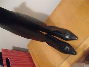 High Quality Soft Calf Leather Thigh High Boots !! Mint ! SZ 7 ! Edmonton Edmonton Area image 2