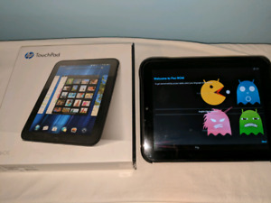 """HP Touchpad 16GB 9.7"""" Android/WebOS tablet with Flip Case"""