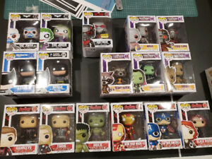 Funko pop avengers batman joker guardians of galaxy ant man