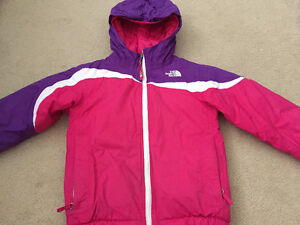 North Face Girl Winter Insulated Jacket 4T Cambridge Kitchener Area image 3