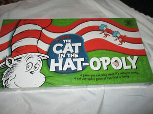 Monolopy Cat in the Hat-Opoly game brand new Kitchener / Waterloo Kitchener Area image 1